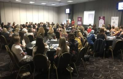 CRABTREE DELIGHTED WITH TURNOUT AT WOMEN IN BUSINESS EVENT