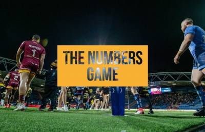 THE NUMBERS GAME: VS CASTLEFORD