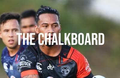 THE CHALKBOARD: THE ENFORCER IS A GIANT