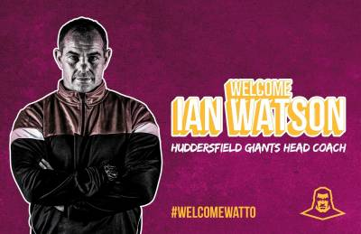 Giants appoint Ian Watson as Head Coach