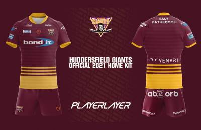 Giants unveil 2021 Principal & Alternative Kits