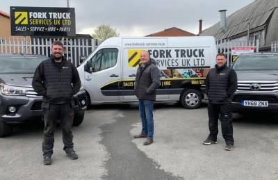 Fork Truck Services UK Ltd Lift Giants with 2021 Partnership